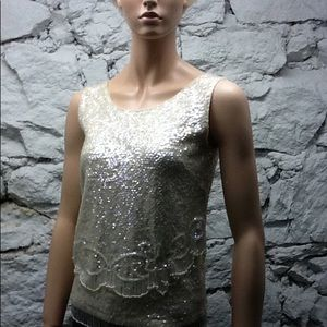 Glam Timeless Vintage Top -  Excellent Condition!